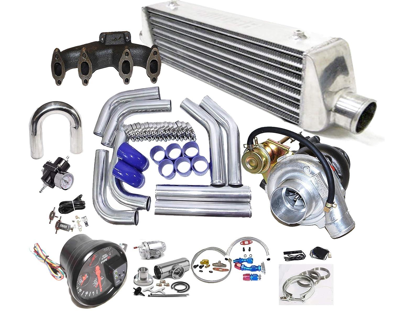 Amazon.com: VW Jetta Golf Passat Beetle Cabrio MK2 MK3 MK4 Complet T3/T4 Turbo Kit 2.0L SOHC: Automotive