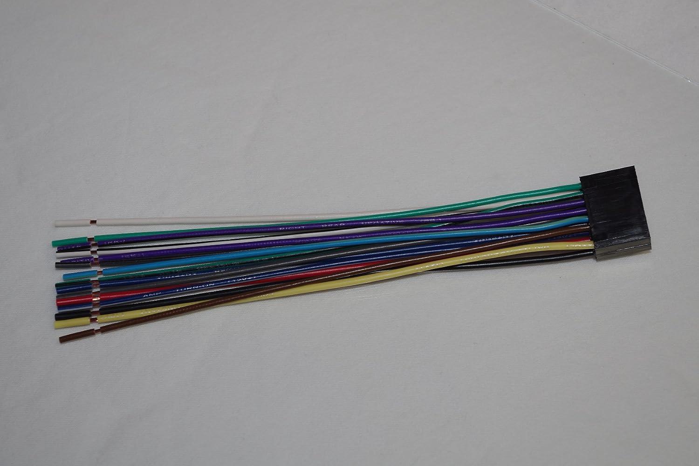 Wire Harness For Kenwood Models Ddx371 Kdc Bt318u Car Stereo Wiring Diagram Model Bt555u Bt310u 355u 348u 258u 255u 200uect Automotive