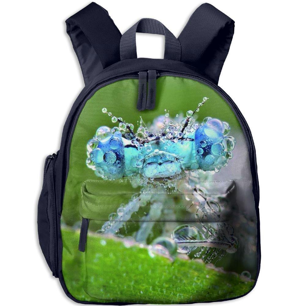 021d028729f9 KEPan Outdoor Dragonfly In The Rain Kids Snack Backpack School Book ...