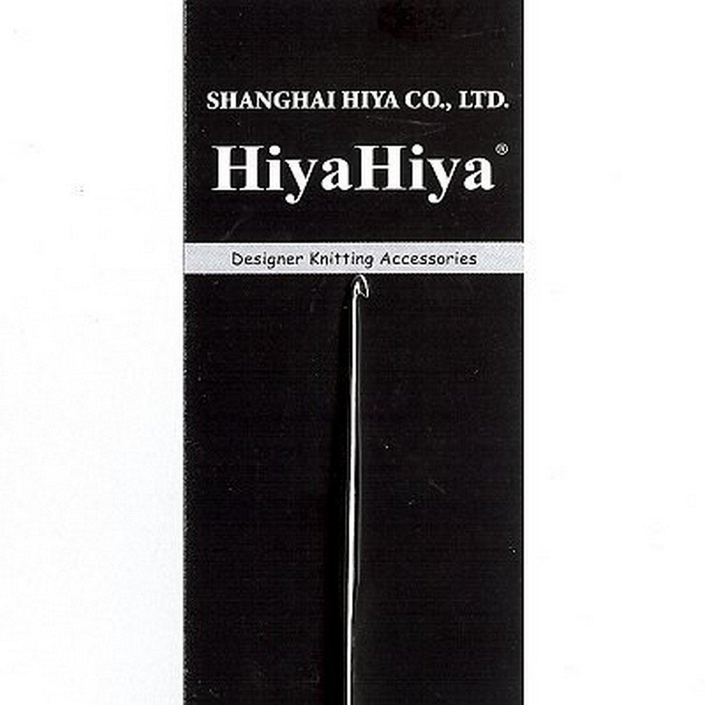 HiyaHiya Crochet Hook 5-inch (13cm) Nickel Plated; Size US 17 (0.5mm) HISTCRO5-17 by HiyaHiya B00E1P1O0U