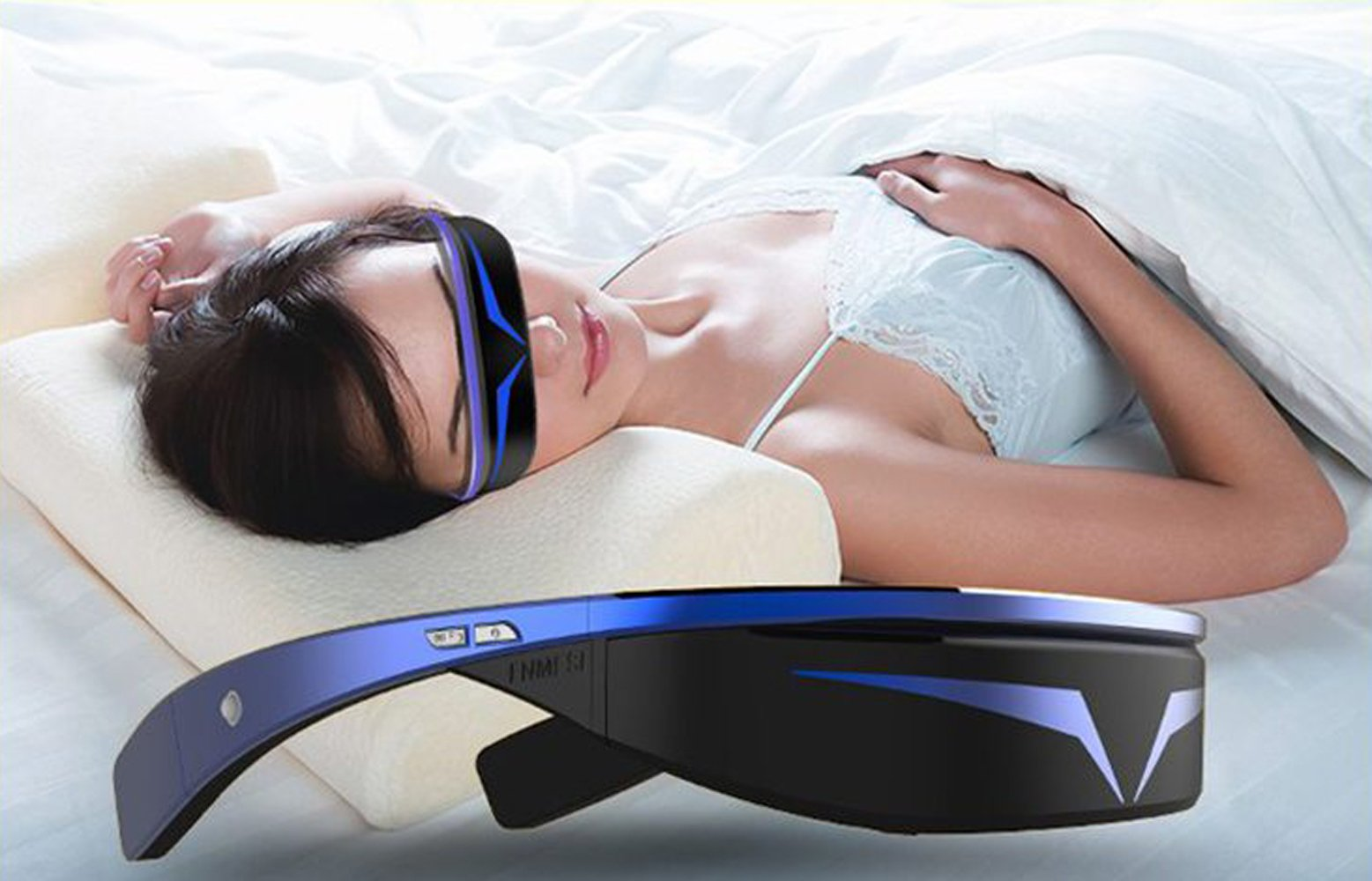 98 inches Virtual 3D Theater Video Game Glasses WIFI Bluetooth 16GB 1080P - Widescreen VR Private Theater by Crow-Quill Studios (Image #7)
