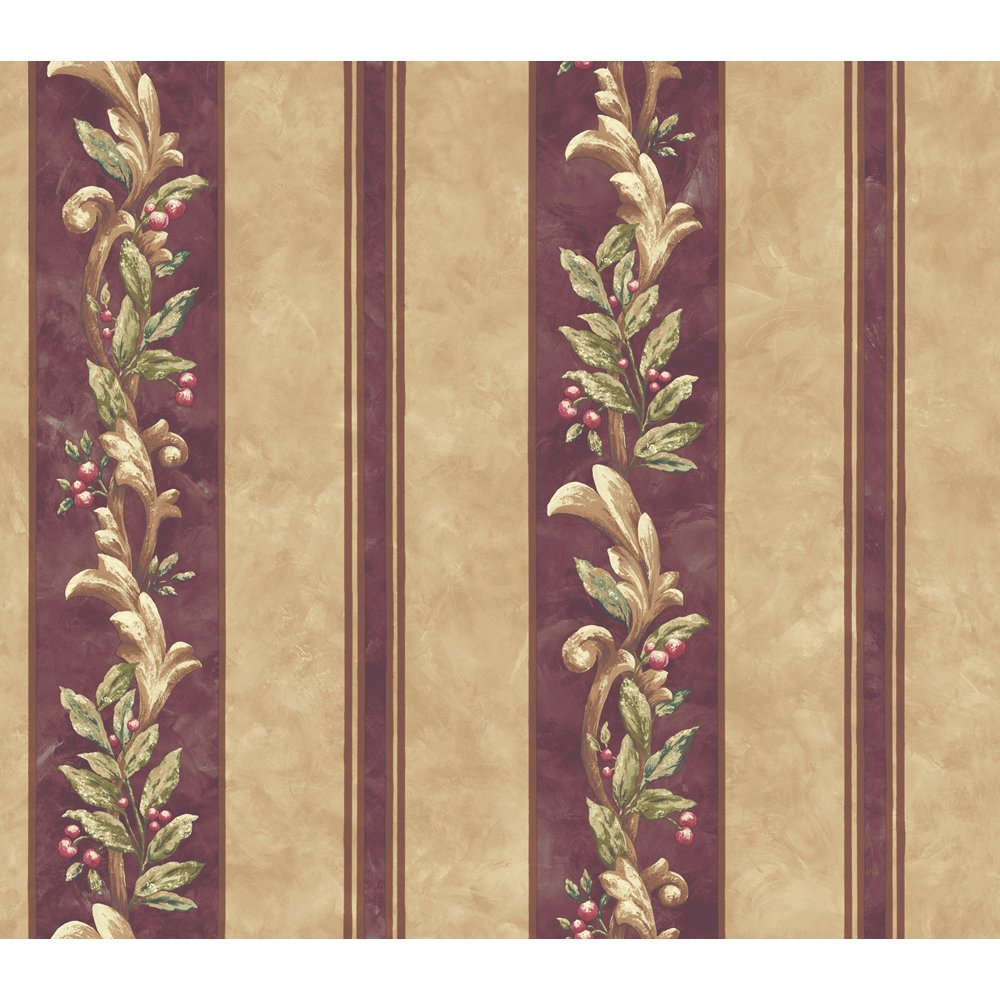 Decorate By Color BC1581825 Purple and Beige Stripe Wallpaper