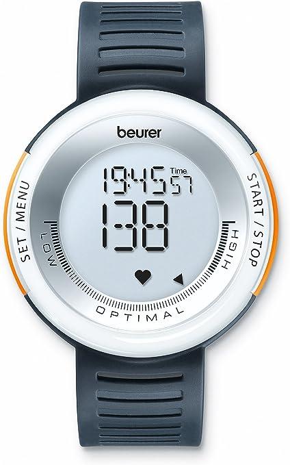 Beurer PM-58 - Pulsímetro con Solo 2 Botones, cronómetro, Consumo ...