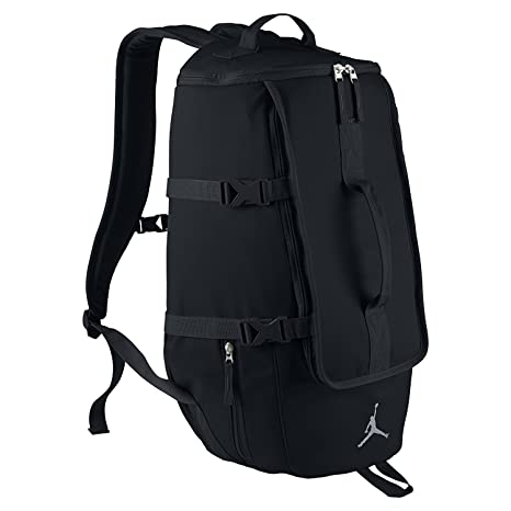 dc39d42ec65 Jordan Top Loader Backpack Unisex Style: 806371-010 Size: OS: Amazon.in:  Sports, Fitness & Outdoors