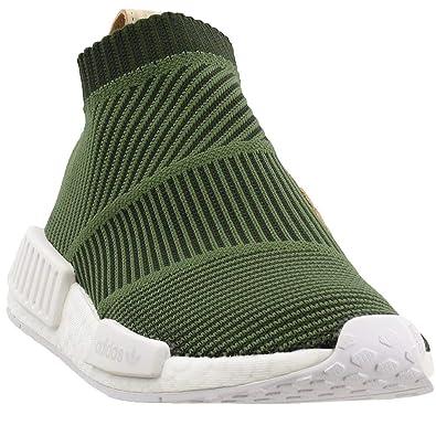 the latest 7b0bb 2fba1 adidas NMD_CS1 Primeknit Men's Shoes Night Cargo/Base Green/Cloud White  b37638 (7.5