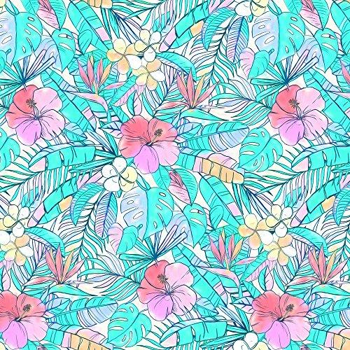 Hibiscus Print Fabric - 6