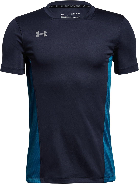 Under Armour Boys Y Challenger Ii Training Top Short-Sleeve Shirt