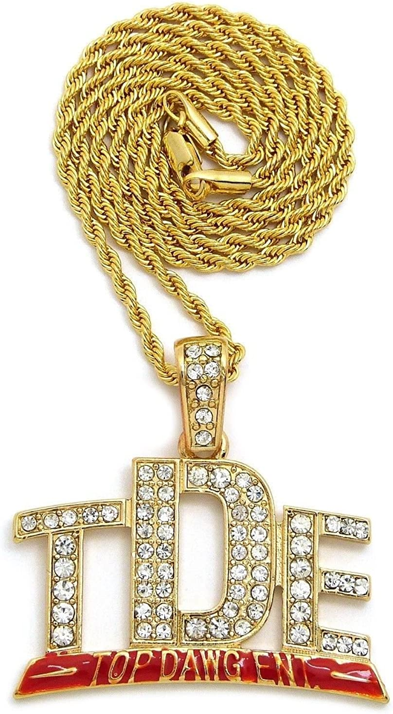 Lamar v2 Luxury Dog Tag Necklace Personalized Name Gifts
