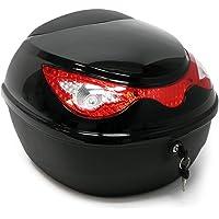 WilTec Coffre de Moto Top Case Roller Moto Valise Boîte de Transport Motocyclette