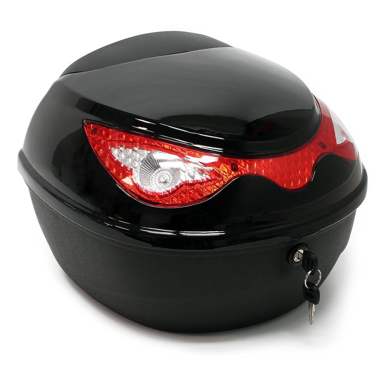 Coffre de moto Top Case Roller Moto Valise Boî te de transport Motocyclette WilTec