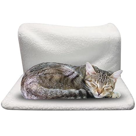Cama para gato o perro para colgar en el radiador, cama cálida,