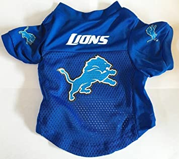 Amazon.com   Detroit Lions Pet Dog Football Jersey Alternate LARGE   Pet  Apparel   Pet Supplies bf569a187