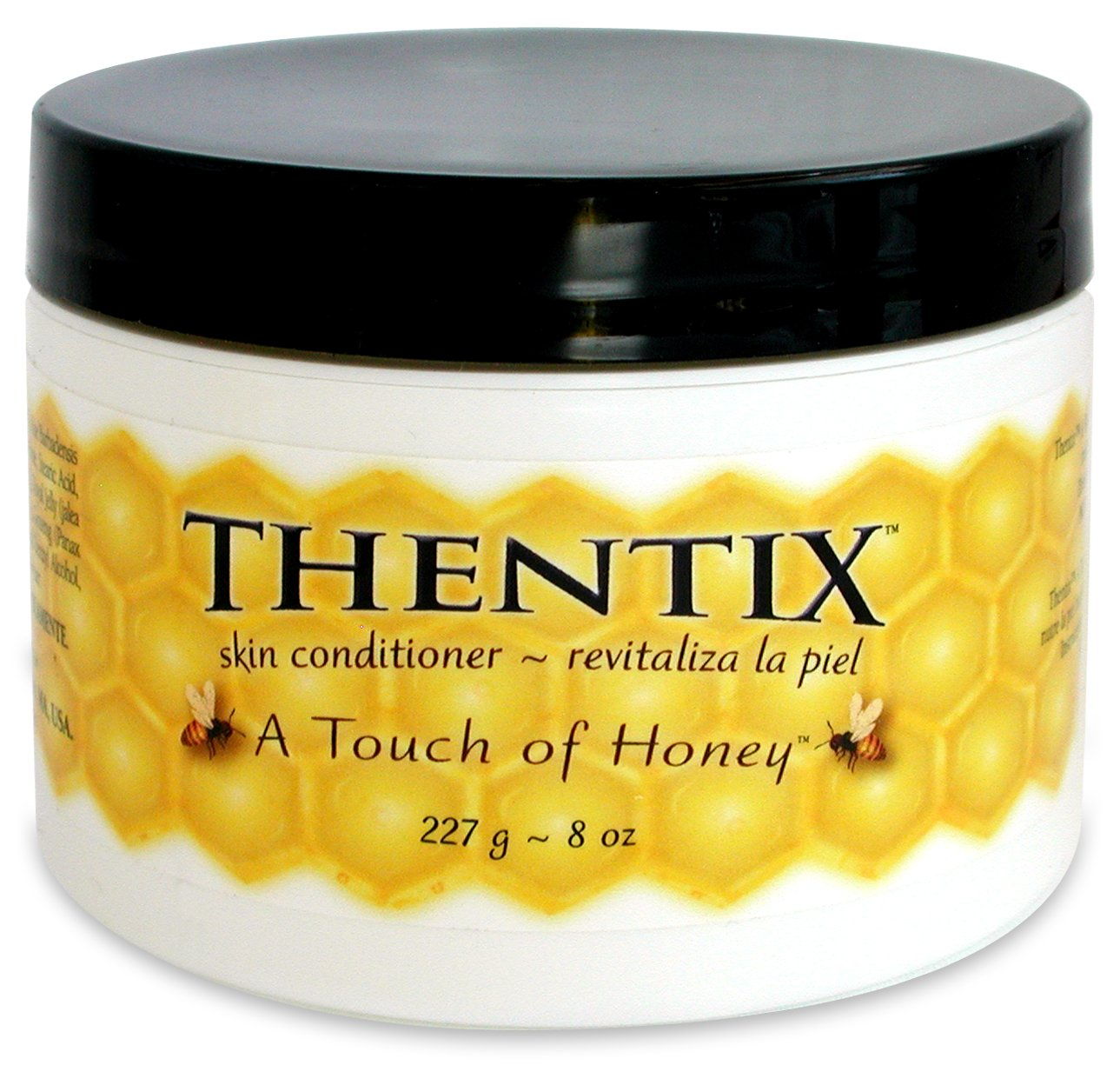 """Thentix"""" Skin Conditioner With A Touch Of Honey 8 Oz. (Ideal For 60 Different Ailments!)"""