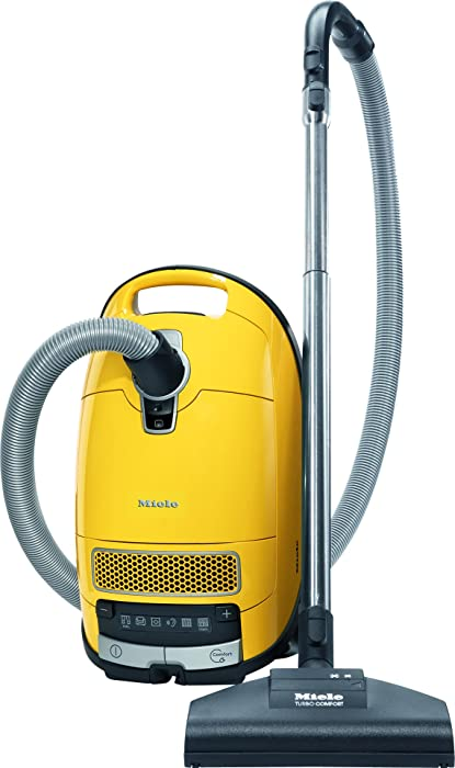 New Miele Complete C3 Calima Canister Vacuum, Canary Yellow