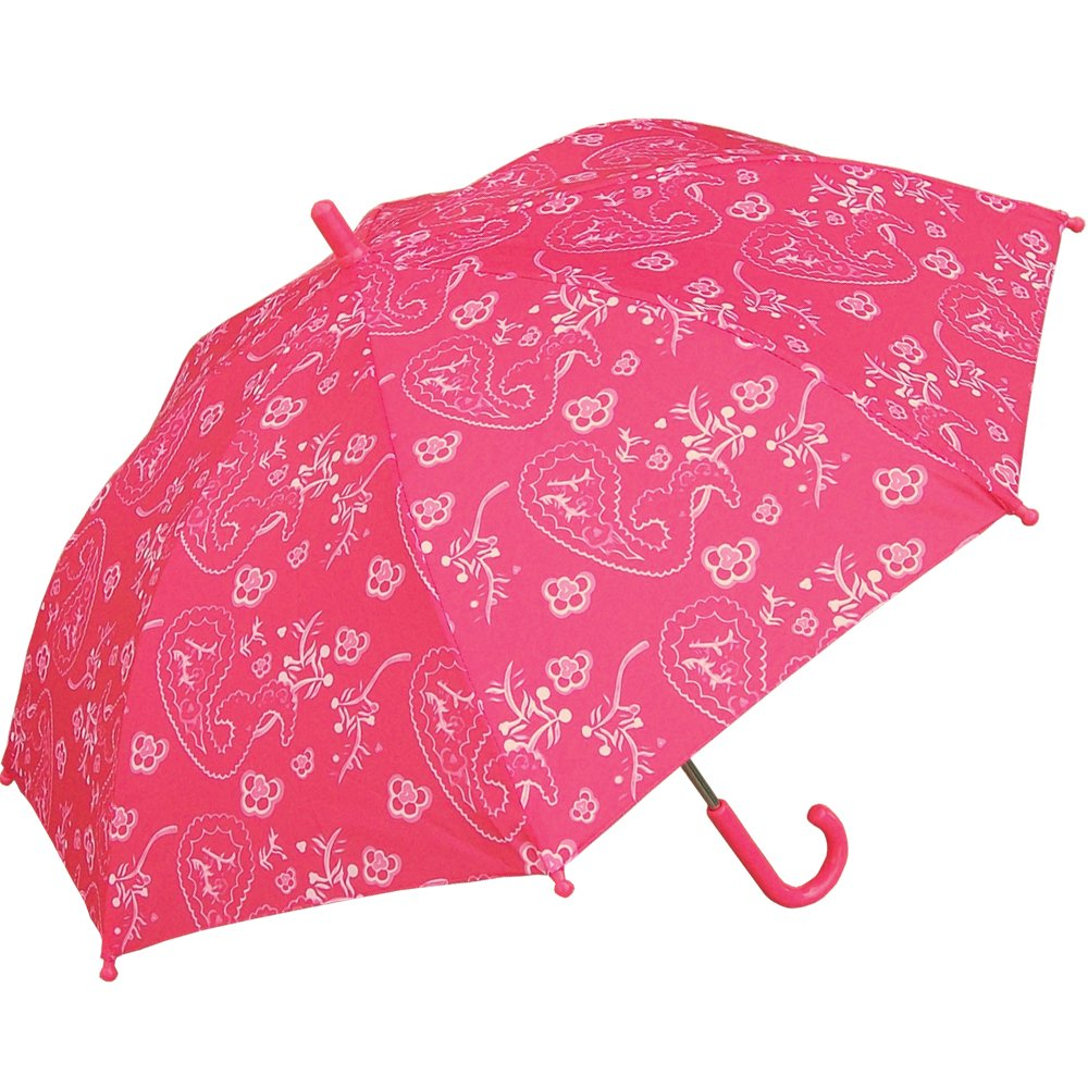 RainStoppers Girl's Paisley Print Umbrella, 34-Inch by RainStoppers