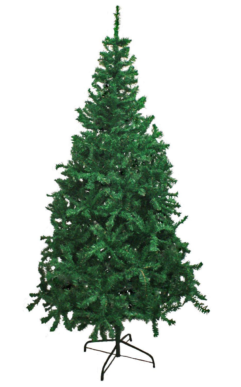 Best Artificial Christmas Tree - Hausen Traditional Green Indoor Artificial Christmas Tree