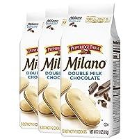 3-Pack Pepperidge Farm Milano Double Milk Chocolate Cookies 7.5oz