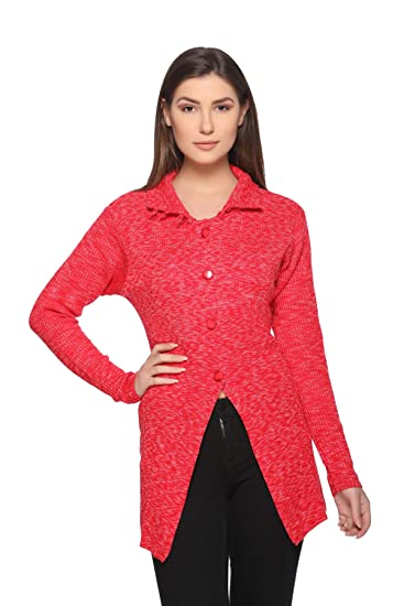 Modeve Women s Long Sweater for Winter  Amazon.in  Clothing   Accessories 22fafa94c