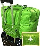 【POSITIVE】 折りたたみボストンバッグ 収納ポーチ付 大容量32L 機內持込可 スーツケース固定可 保証書付