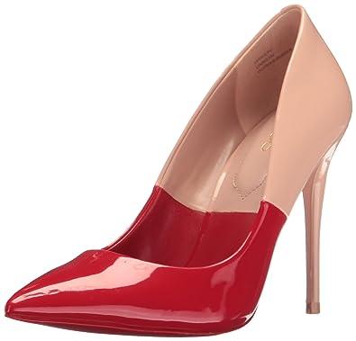 75280a20ba Aldo Women's Stessy Dress Pump, Red Nabuck, 6.5 B US: Buy Online at ...