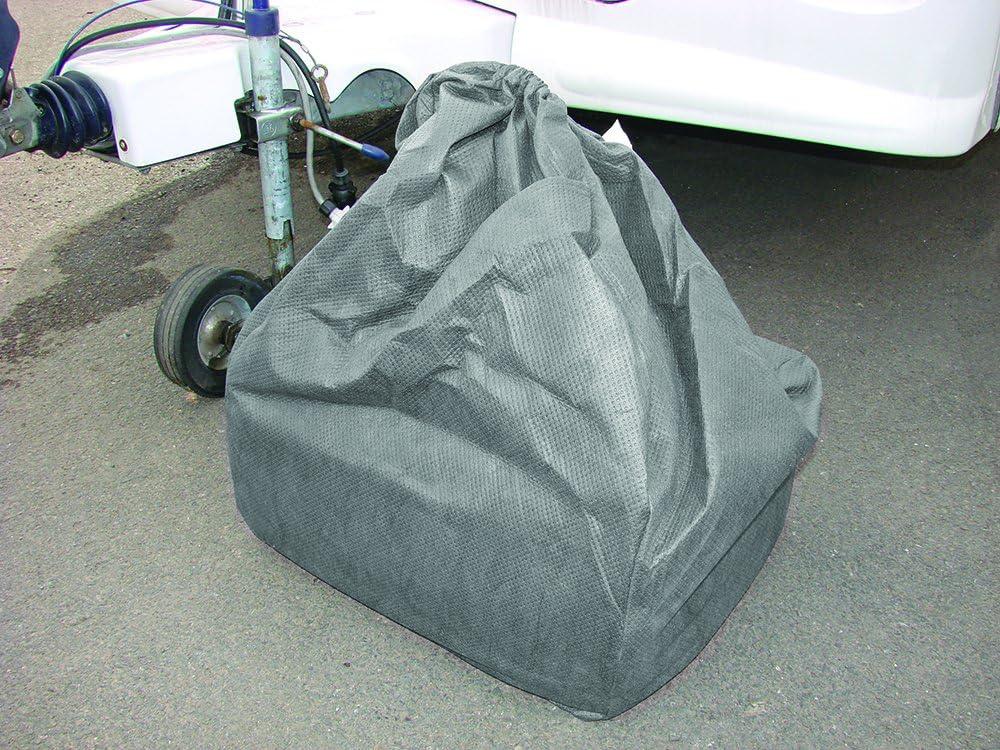 Maypole 19-21 Superior 4 Ply Grey Breathable Caravan Cover