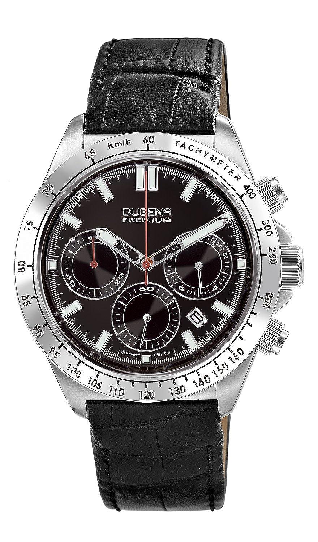 Sport Imola Leder Chronogarph Herren Analog Armbanduhr Line Quarz Dugena 7000172 Xl JcFlK3T1