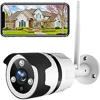 NETVUE Camaras de Vigilancia Wifi Exterior 1080P, Compatible con Alexa, Exterior IP66 Resistente al Agua Resistente al…