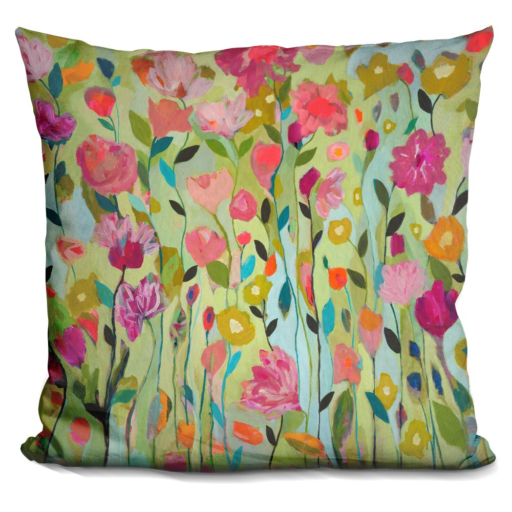 LiLiPi''Floral & Botanical Decorative Accent Throw Pillow