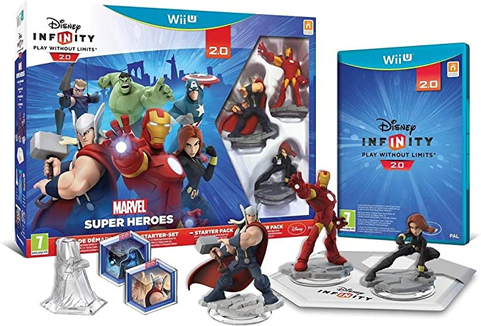 Disney Infinity 2 - Marvel Sh Starter Pack: Amazon.es: Videojuegos