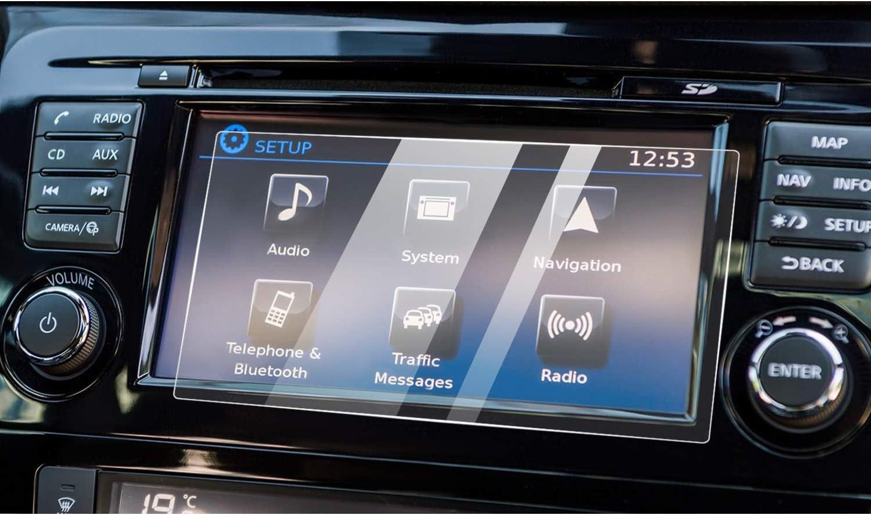 YEE PIN Navigation Protector de pantalla para Qashqai J11 GPS, cristal templado, accesorio para coche (7