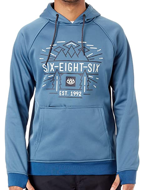 111e2a6ad7 686 Men's Knockout Bonded Fleece Pullover | Waterproof Pull-Over Sweatshirts