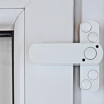 5 X Bever Stuco Safe Fenstersicherung 1 Flugelig Weiss 20sw
