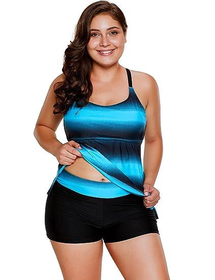 c7dbef92d54e 7 trajes de baño estilo High Waist para las mujeres plus size | La ...