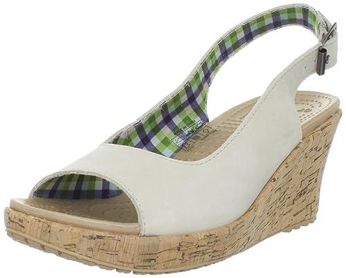 2b6828096002 Crocs Women s A-Leigh Wedge Sandal