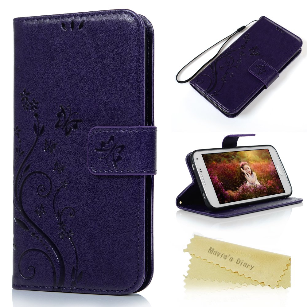 S5 Case,Galaxy S5 Wallet Case - Mavis's Diary