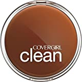 CoverGirl Clean Pressed Powder Compact, Creamy Beige 150, 0.39 oz(11g)