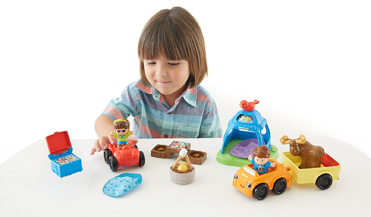 Fisher Price Kids Picnic Table Fisher-Price Little People Going Camping