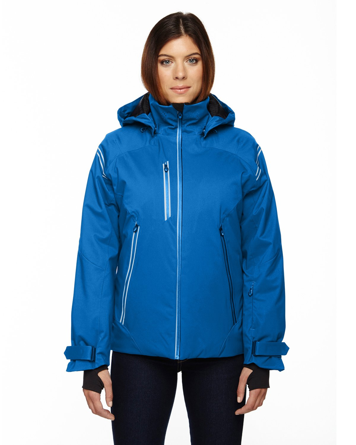 Ash City Ladies Ventilate Insulated Jacket (Small, Olympic Blue)