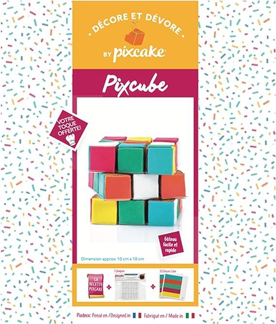 Pixcake Kit Décore Et Dévore Pixcube Présentoir à