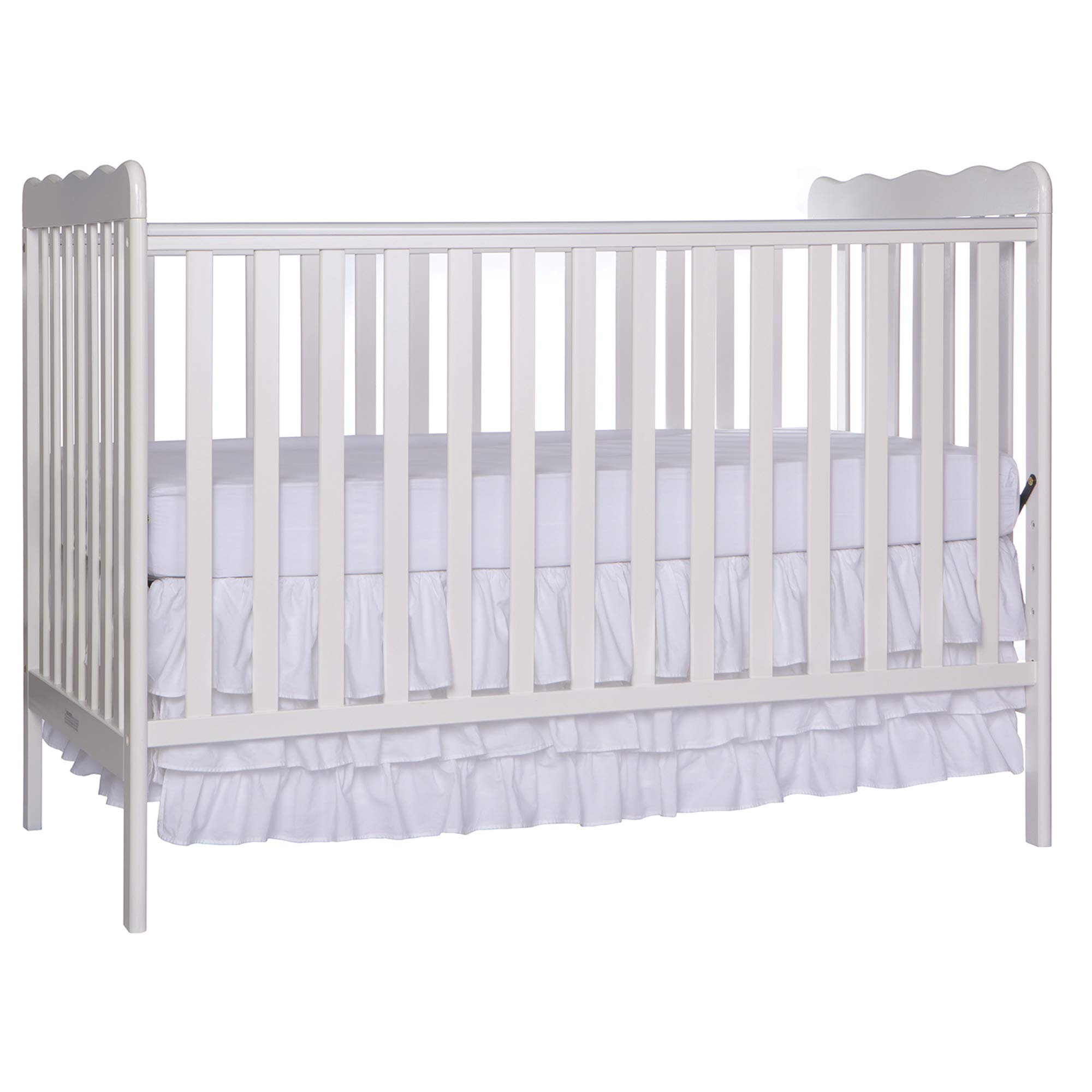 Dream On Me, Carson Classic  3 in 1 Convertible Crib in White by Dream On Me