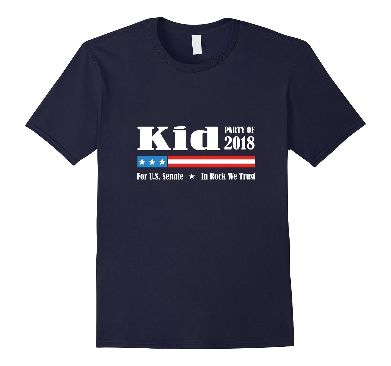 Kid For US Senate 2018 In Rock We Trust Gift T-Shirt-BN