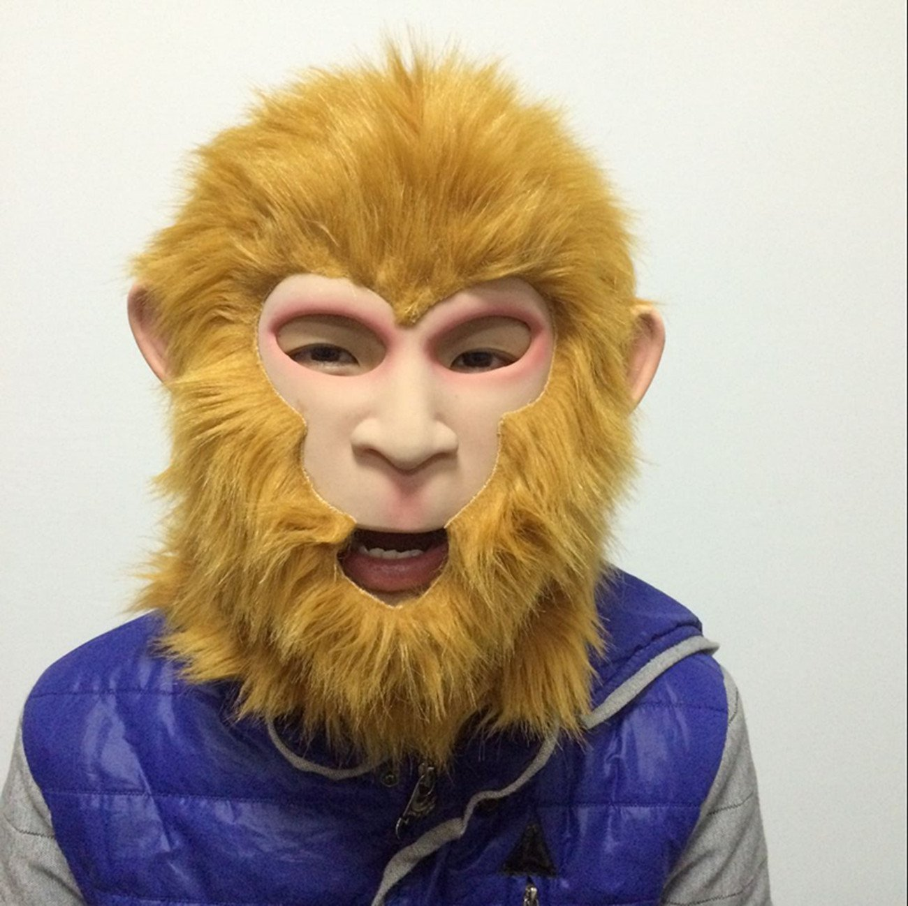 Monkey King Latex Full Head Mask Halloween,Costume,Easter,Cosplay by MaskShow by Maskshow