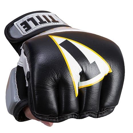 10fb02e72f2 Amazon.com   Title Boxing ICON I-Tech Wristwrap Heavy Bag Gloves ...