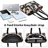 LOKASS Printing 15.6 Inches Laptop Tote Bag Nyon