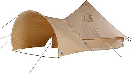 10T Desert 8 Plus Tipi Zelt mit XXL Wohn & Schlafbereich