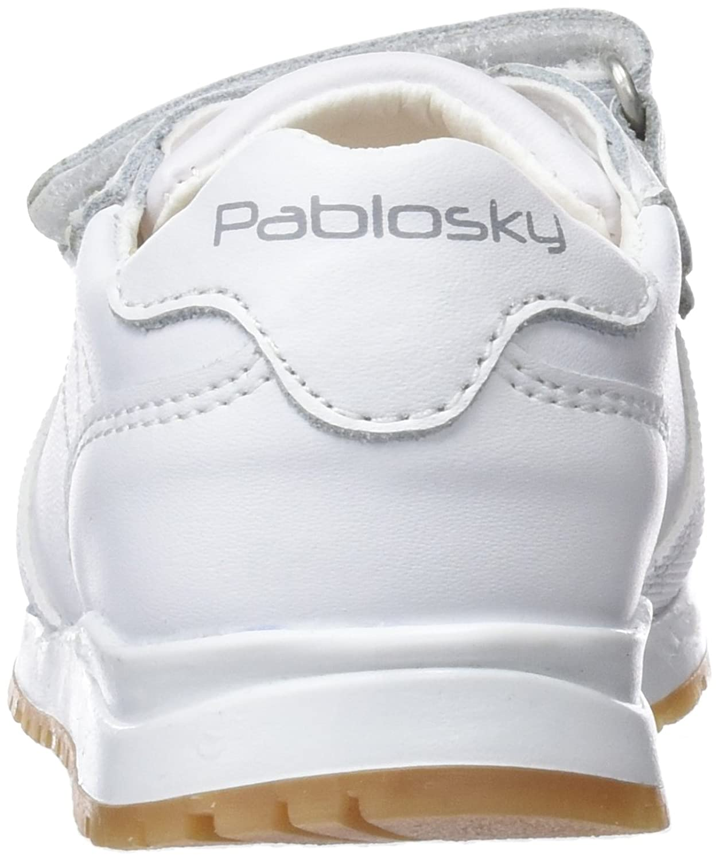 Pablosky 268609, Zapatillas Unisex Niño, Blanco, 25 EU