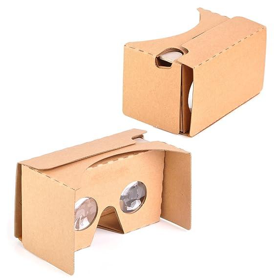 a2dcdcfbad8 Amazon.com  KR-NET® Google Cardboard V2.0 - VR Virtual Reality 3D ...