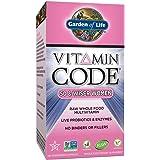 Garden of Life Multivitamin for Women - Vitamin Code 50 & Wiser Women's Raw Whole Food Vitamin Supplement with Probiotics, Vegetarian, 120 Capsules