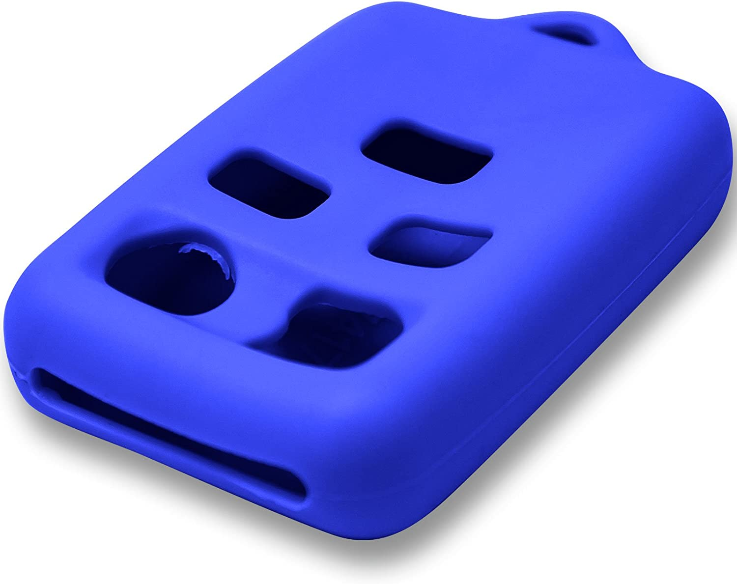 Blue Keyless2Go New Silicone Cover Protective Case for 5 Button Remote Key Fob with FCC CWTWB1U511