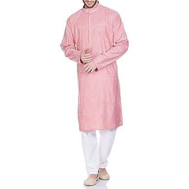 4dc6421cf825 Amazon.com  ShalinIndia Comfortable Kurta Pajama Set for Men